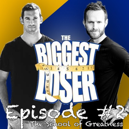 Lewis Howes and Bob Harper, Host of The Biggest Loser